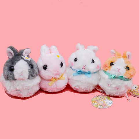 Japan Amuse Licensed Fluffy Bunny Plush Charm