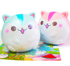 New! HUGE Fat Poli Hamster Ball SHIMMERY Scented Squishy