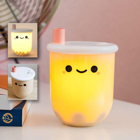 Licensed Boba Tea Ambient Light, With Movable PEARL Inside!