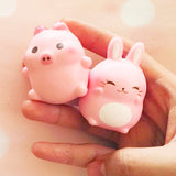 "Animelliis Limited ""Bunny Meets Marshmellii"" SCENTED Slow Rising Squishy Charm"