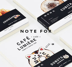 Cafe Lumiere Minimalist Notebook Journal