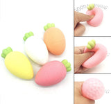 Cute Carrot Caviar Water Beads Orbeez Squishy Squeeze Stretch Toy