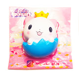 Woow Licensed Cat in Eggshell Scented Slow Rising Squishy