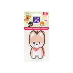 Corgi Friends Air Freshener Cherry