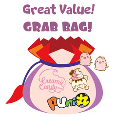Puni Maru & Creamiicandy LICENSED Squishy Lucky Grab Bags! BIG SAVINGS!