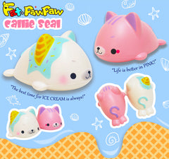 【Deal Of The Week】 FatPawPaw Callie Seal SCENTED Slow Rising Squishy, Limited Edition!