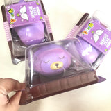Puni Maru New JUMBO & MINI Grape Mochi Seal SCENTED Slow Rising Squishy