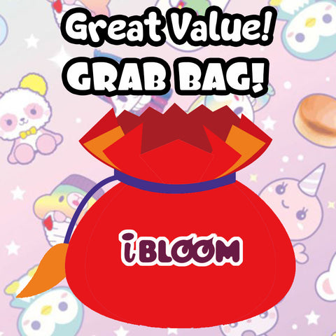 iBloom LICENSED Squishy Lucky Grab Bags! BIG SAVINGS!
