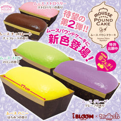 New Series! iBloom JUMBO Mousse Pound Cake SCENTED Squishy, So Moussey! So Soft!