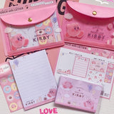 Kirby Pouch with Letters Set