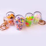 Shake it! Candy Sweetie Cup Key Chain Bag Backpack Charm