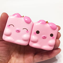 Marshmellii the Piggy Tofu Chigiri Bread SCENTED Squishy by Creamiicandy