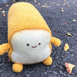 Funny Emoticon Toast Plush M