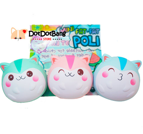 Baby Fat Poli the Hamster Licensed SCENTED Slow Rising Squishy