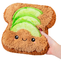 Mini Avocado Toast Plush By Squishable 7""
