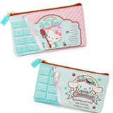 Mint Chocolate Kawaii Character Pouch, Cosmetic Bag, Pencil Case by Sanrio