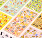Japan Licensed Adorable Puppy Stickers, Multi-Designs!