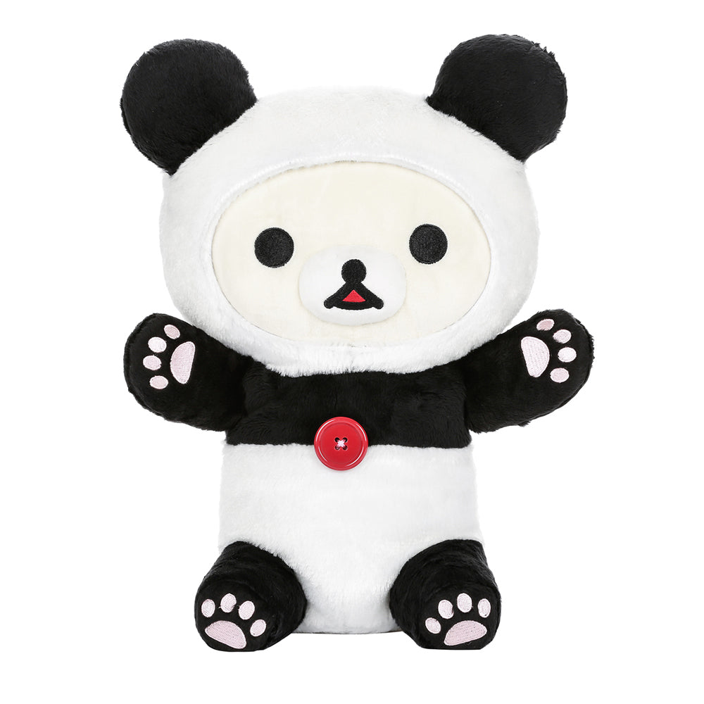 Korilakkuma Dressed as Panda Plush