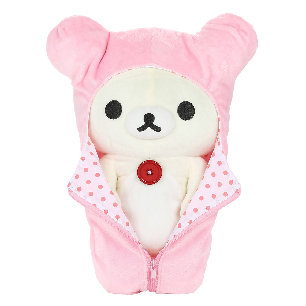 Korilakkuma in Removable Sleeping Bag Plush