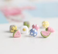 Limited Stock! Kawaii Mini Polymer Clay Earrings