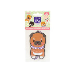 Corgi Friends Air Freshener Peach