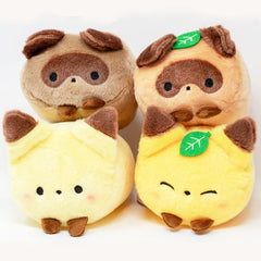 Yell Japanese Raccoon & Fox Plush