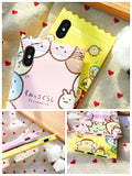 Kawaii Sumikko Gurashi Silicone Phone Case For Iphone, with Strap!