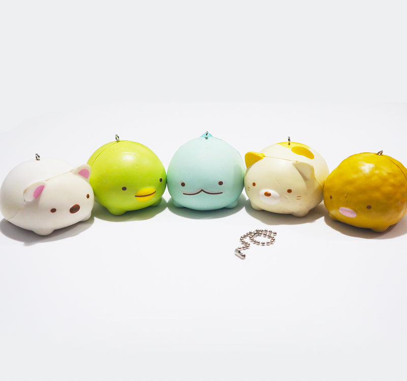 Licensed Sumikko Gurashi Animal Mascot Squishy Charm