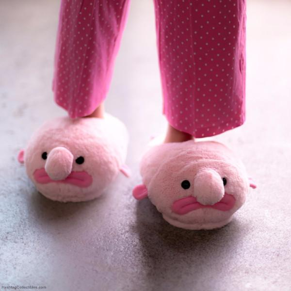 Blobfish Fluffy Slippers