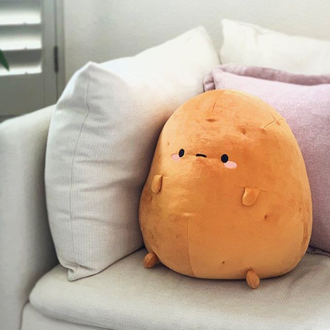 Tayto Potato Mochi Plush