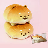 Softest Plush Ever! Stretchable! BIG Yeast Ken Shiba Inu Bread Roll Mochi Plush