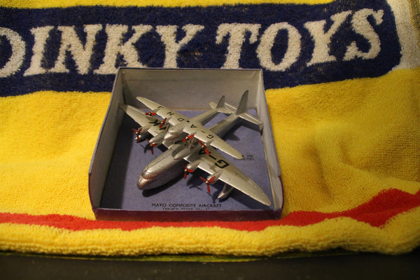 i really am excited to have this rare #63 dinky aircraft in my shop