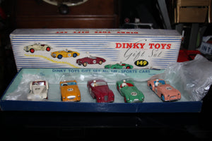 Dinky Toys gift set #149 rare mint would be 9.75/10 LukesLine appraisel and found in europe