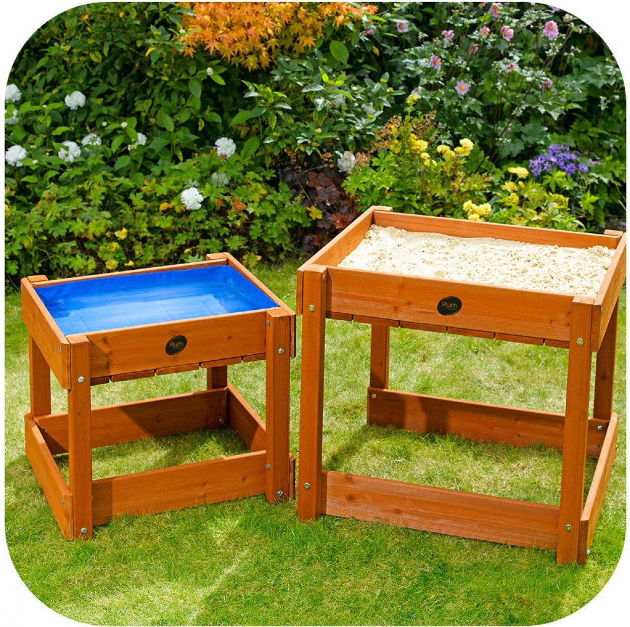 Plum Wooden Sand U0026 Water Tables