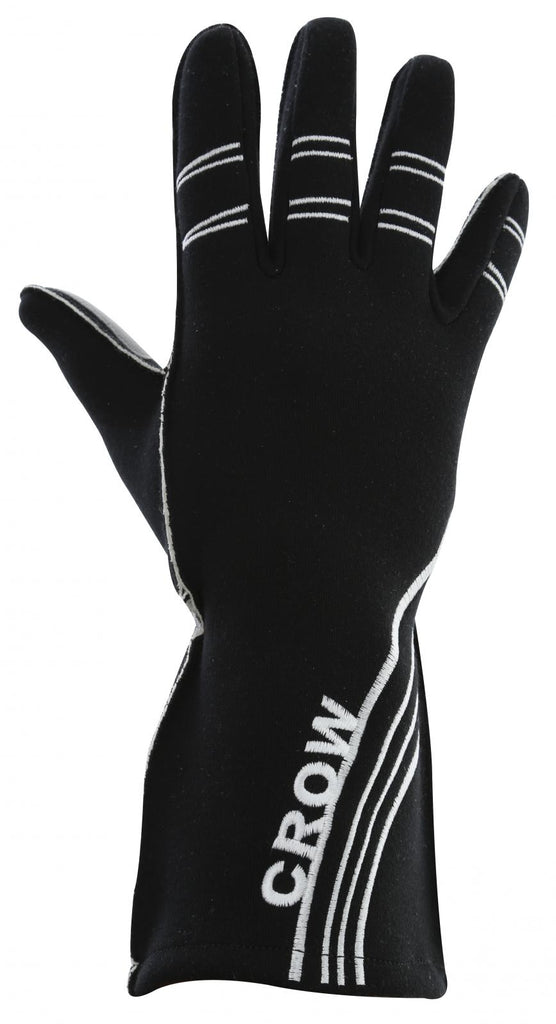 Racing Gloves All Star Nomex Racing Gloves SFI-3.5 Large 2 Layer Black Crow Safety - Skinny Pedal Racing