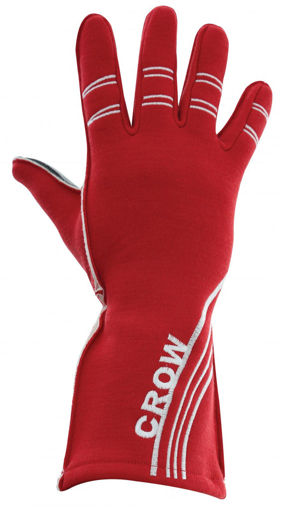 Racing Gloves All Star Nomex Racing Gloves SFI-3.5 Large 2 Layer Red Crow Safety - Skinny Pedal Racing
