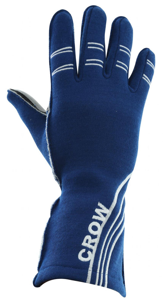 Racing Gloves All Star Nomex Racing Gloves SFI-3.5 Large 2 Layer Blue Crow Safety - Skinny Pedal Racing
