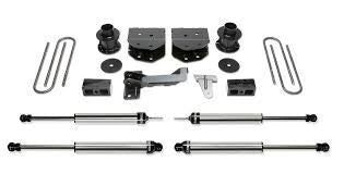 Fabtech 4 Inch Budget Lift Kit w/Dirt Logic SS Shocks - K2160DL