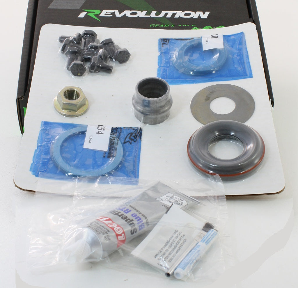 Dana 30 TJ Minimum Install Kit Revolution Gear