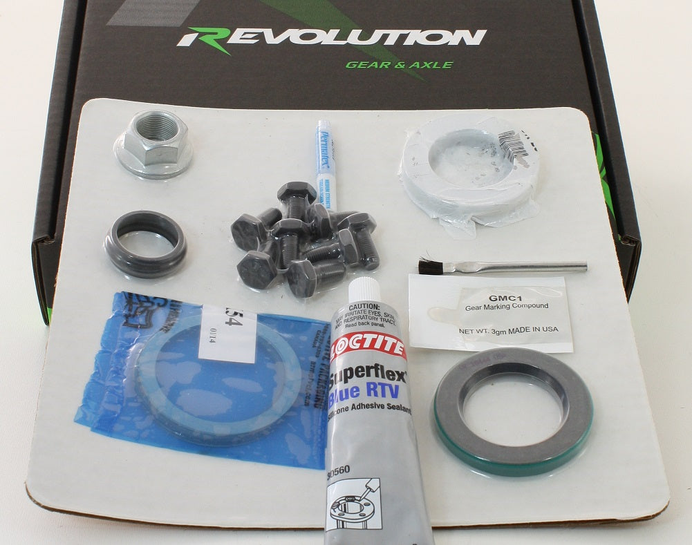 Dana 35 Minimum Install Kit Revolution Gear - Skinny Pedal Racing
