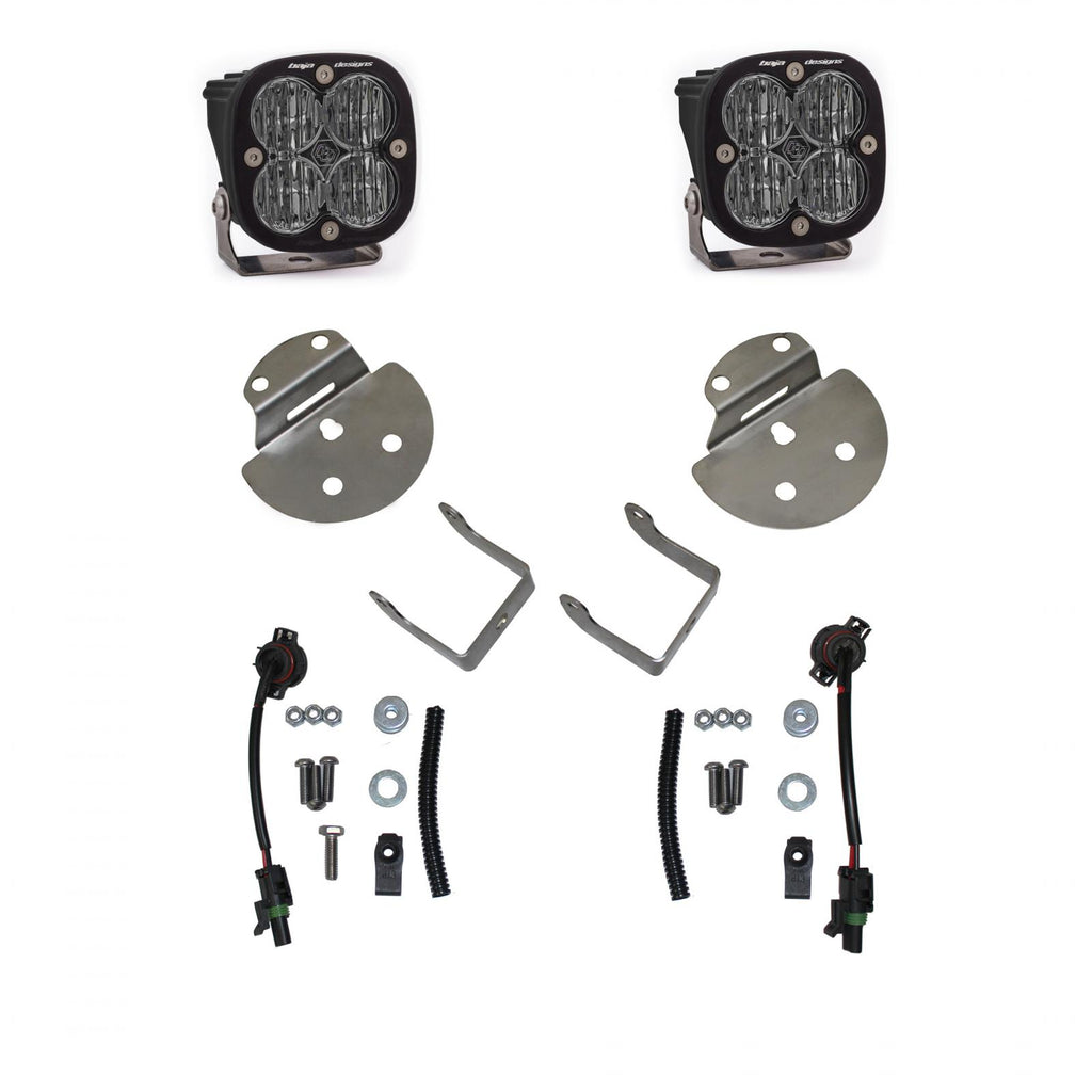 Canyon/Colorado Fog Light SAE Fog Pocket Kit 15-19 Canyon/Colorado Baja Designs