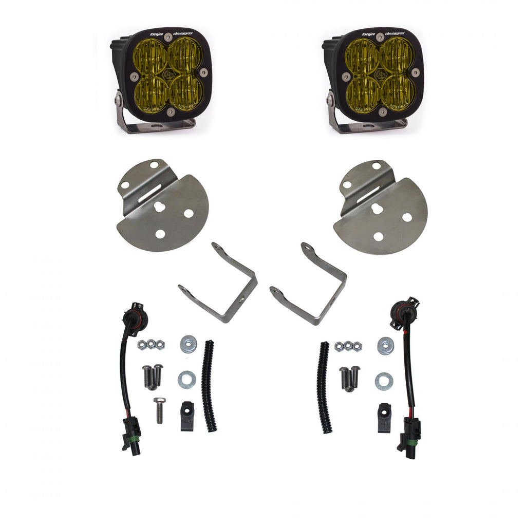 Canyon/Colorado Fog Light SAE Fog Pocket Kit Amaber FPK 15-19 Canyon/Colorado Baja Designs