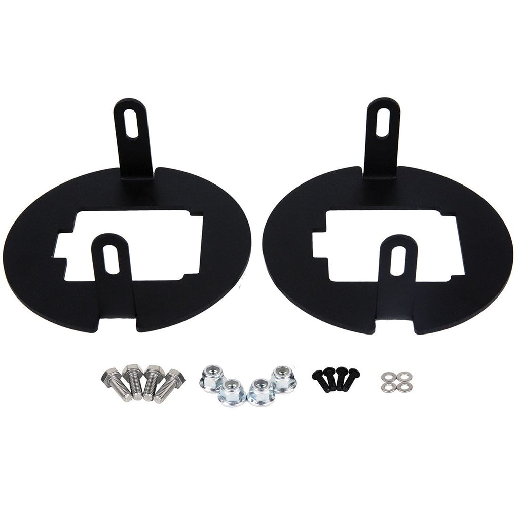 07-13 Toyota Tundra and 2005-11 Tacoma Fog Mount D-Series Pro RIGID Industries - Skinny Pedal Racing