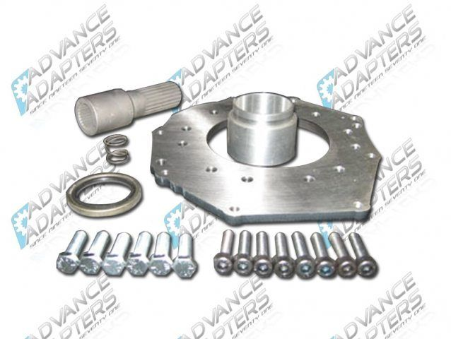 50-5711 : Toyota Tacoma Tranmission to Atlas transfer case Adapter Kit (26 spline)
