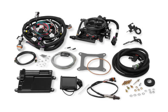 Holley Terminator LS TBI Kit - Hard Core Gray PART# 550-424
