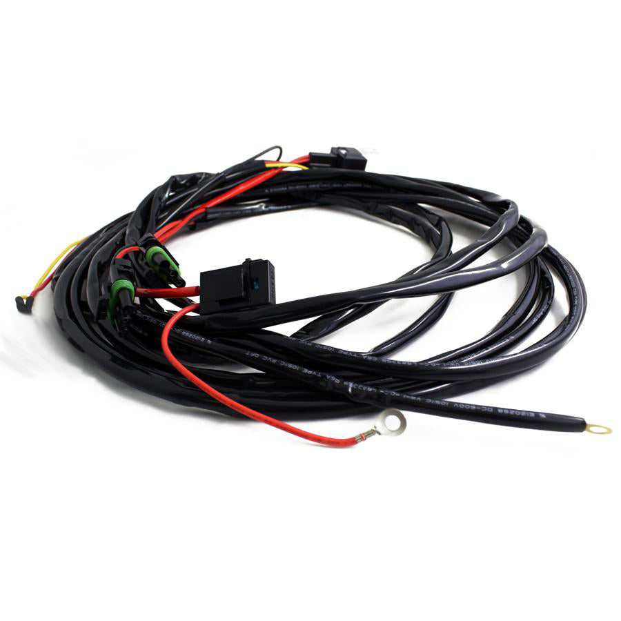 Pro & Sport 3-pin Hi-beam Harness-2 light max 150 watts Baja Designs
