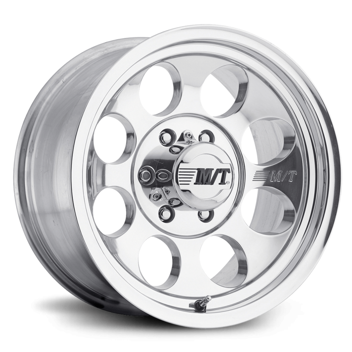 Classic III 16X8 with 8X6.50 Bolt Pattern 4.000 Back Space Polished - Skinny Pedal Racing