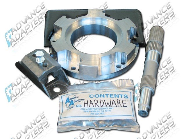 Advanced Adapter 50-9305 : 1997 & up 4L60E to Atlas Transfer Case / Jeep New Process transfer case