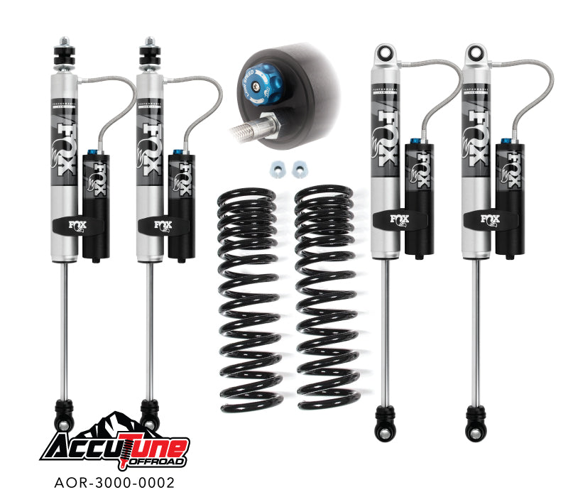 Accutune 17+ Superduty Leveling Kit, Stage 1A – Fox