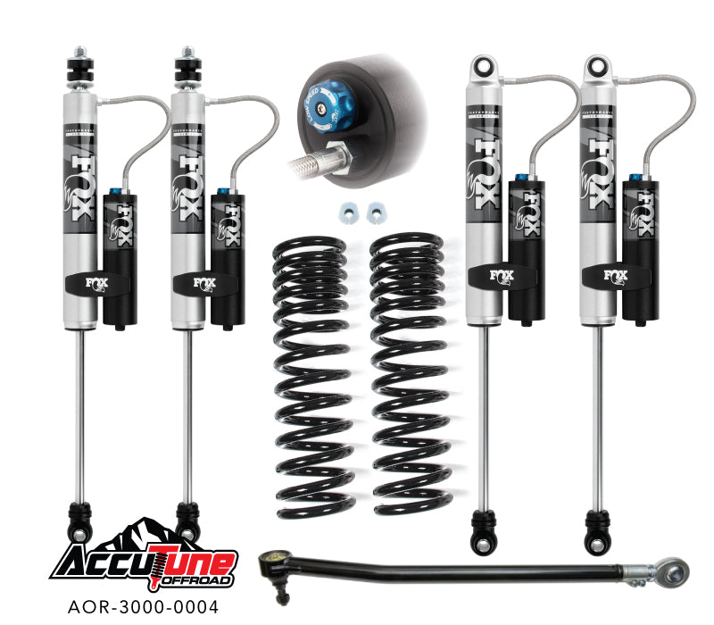 Accutune 17+ Superduty Leveling Kit, Stage 2A – Fox - Skinny Pedal Racing